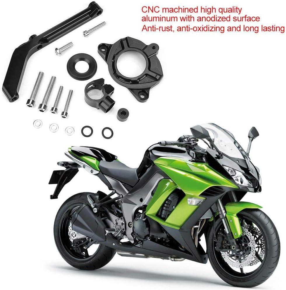 KIMISS Motorcycle CNC Steering Damper Bracket Stabilizer Mounting Kit for Z1000 2014-2016