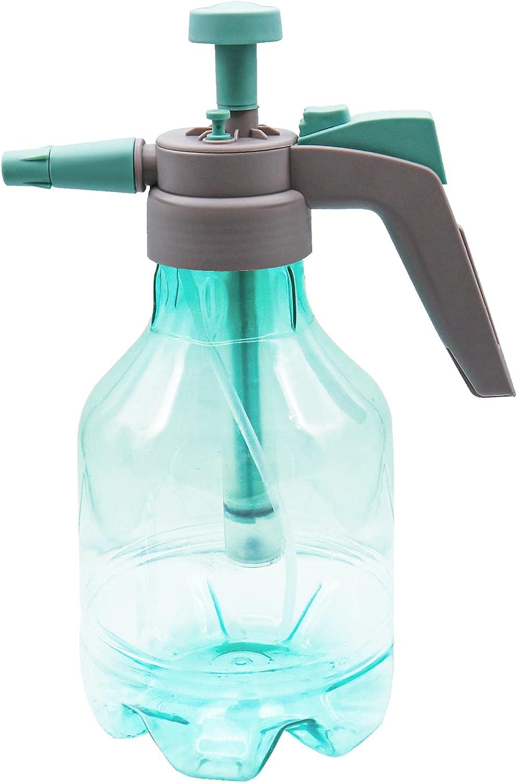 1.5Liter Hand Pressure Garden Sprayer, Air Pressure Plastic Spray Bottle for Plant Flower, Pump Pressure Sprayer with Safety Valve Adjustable Nozzle for Lawn Garden