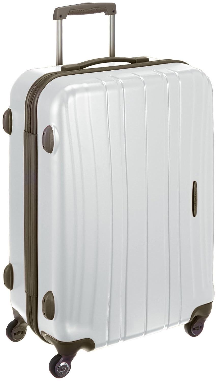 [プロテカ] 日本製スーツケース フラクティII 02663 64L 3.6kg 64.0L 65cm 3.6kg 02663 B078KHTZ49 ホワイト ホワイト