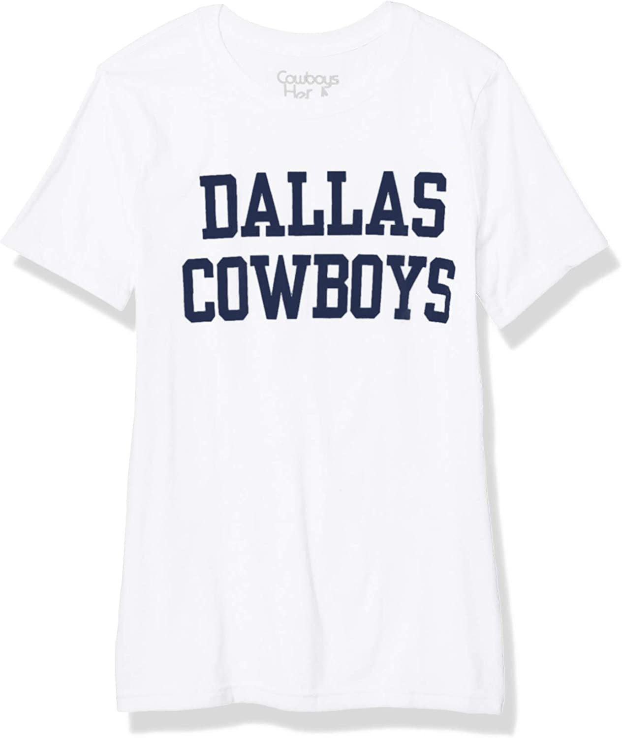 Dallas Cowboys NFL womens Coaches Too Crew Tee