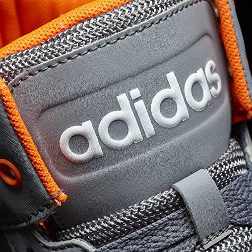 adidas BB9TIS MID K - Zapatillas deportivas baloncestopara niños, Gris - (ONIX/NARSOL/GRIS), 31