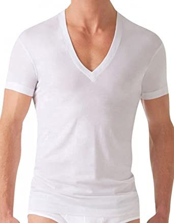 Long dress deep v neck undershirt