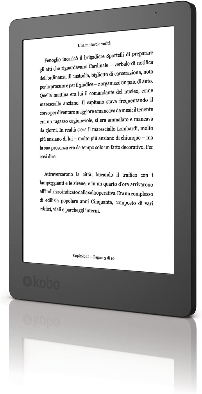 Kobo Aura N236-KU-BK-K-EP - E-Reader de 6, 2da Edicion (USB 2.0 ...
