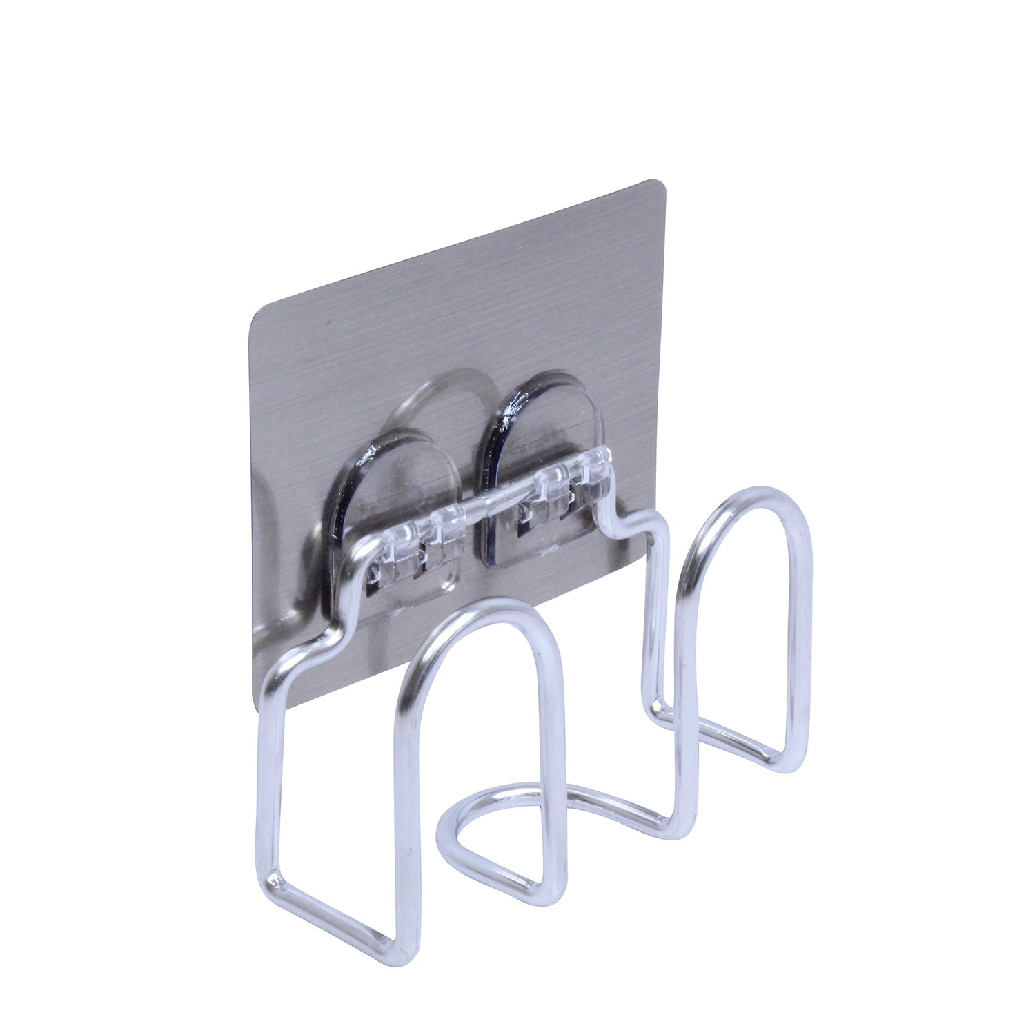 Removable Metal Wall Organizer Adhesive Soap Sponge Storage Caddy Kitchen Storage Rack Drainer Hanging Stainless Steel Bathroom Soap Container
