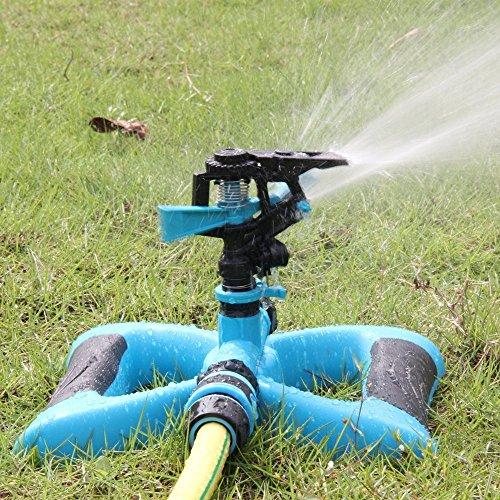 Toloco Garden Sprinkler 360 176 Automatic Rotating Portable