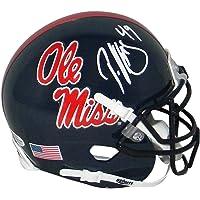 $128 » Patrick Willis Autographed Mississippi Ole Miss Rebels Mini Helmet Beckett - Beckett Authentication - Autographed College Mini Helmets