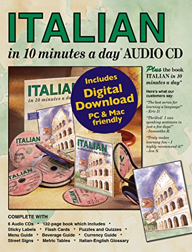ITALIAN in 10 minutes a day AUDIO CD.