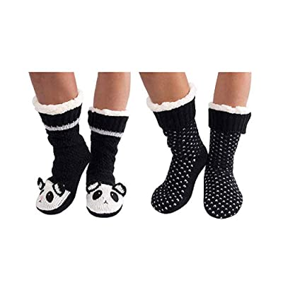 Jane and Bleecker 2 Pair Slipper Socks at Women's Clothing store