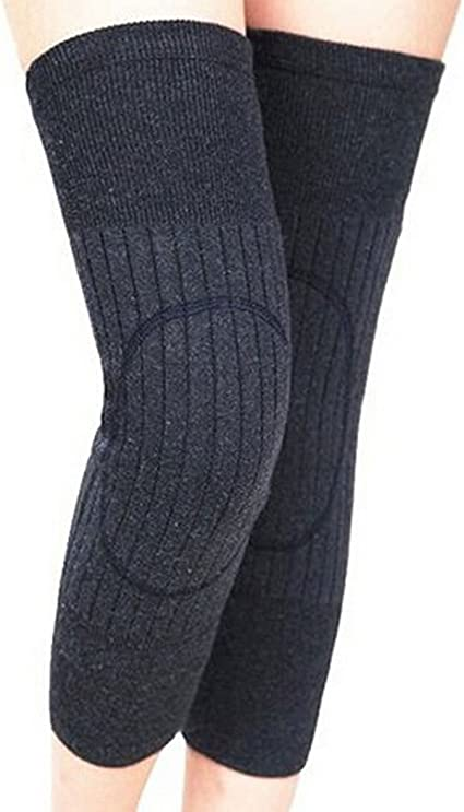 Amazon.com: Unisex lana de cachemira rodilla Brace Pads ...