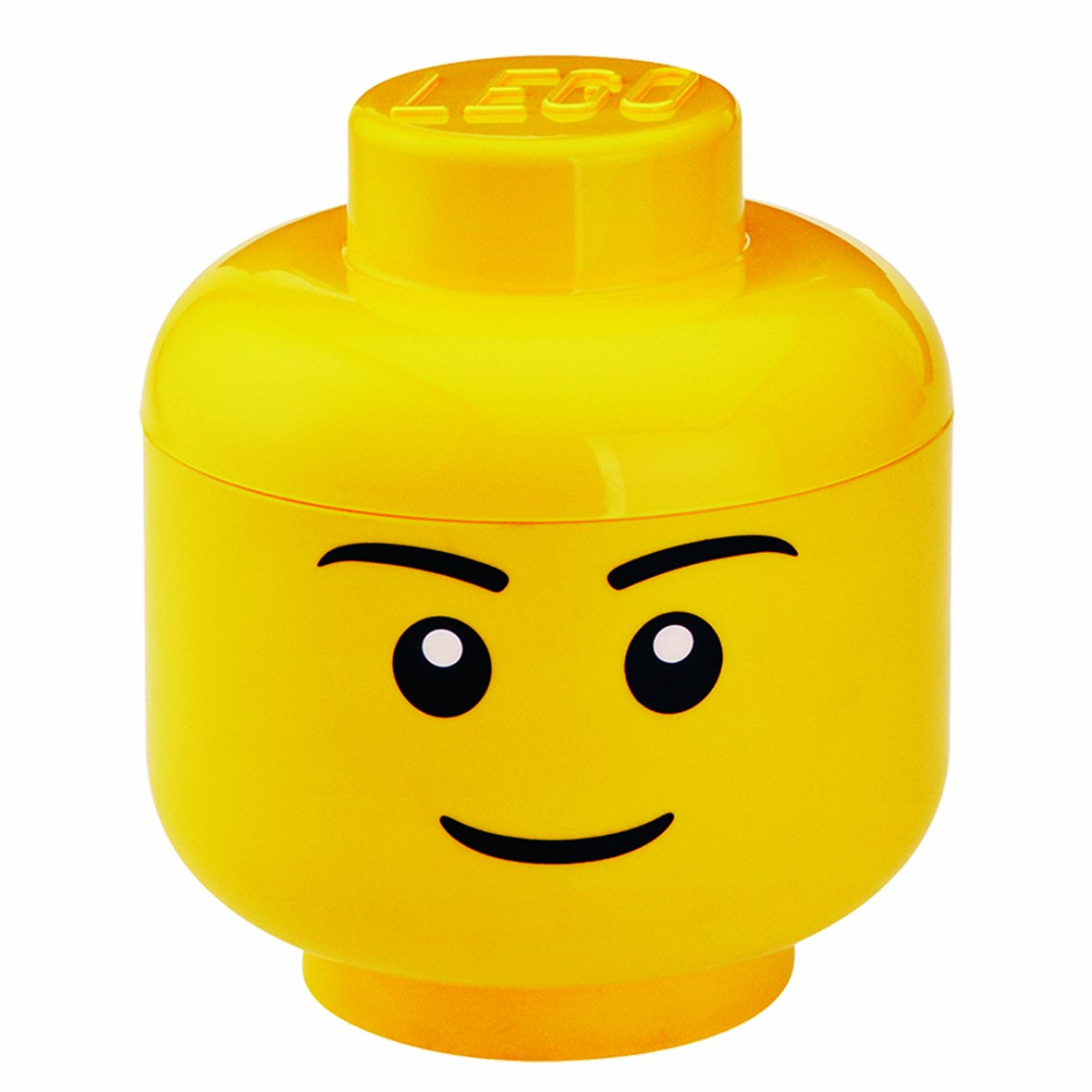 LEGO Storage Head Small, Boy,Yellow Room Copenhagen Inc 4031 40311732_giallo