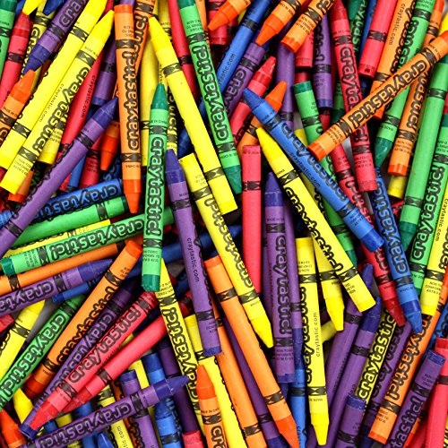 Premium Crayons Case of 264 (6 colors)  SAFETY TESTED COMPLIANT WITH ASTM D-4236