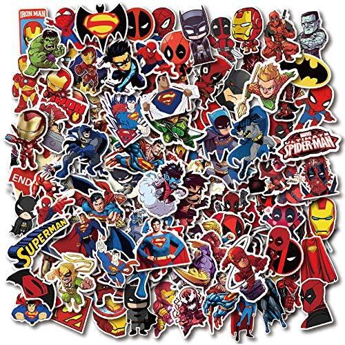 HENJIA Vanmaxx 200 Piezas superhéroes Dibujos Animados ...