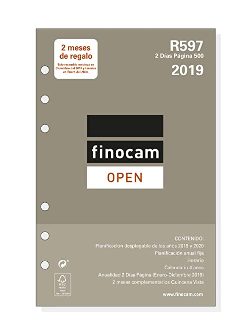 Amazon.com: Finocam 711600019 - Recambio Año 2019: Office ...