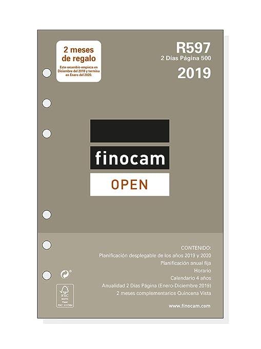 Amazon.com : Finocam 711600019 - Year Refill 2019 : Office ...