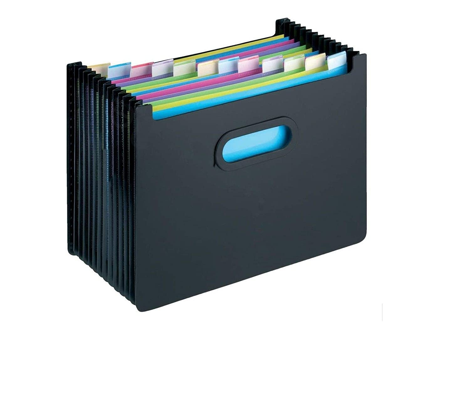 Bold 13 Compartment Expanding File Organiser Concertina Desktop Document Bill Folder AIBULO