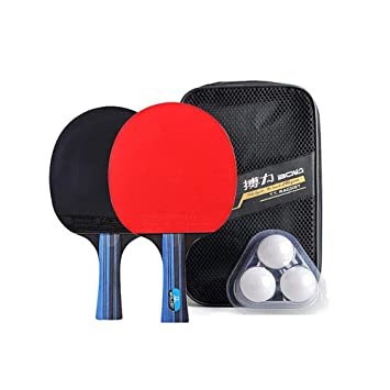 YUYAXQP PortátilRaqueta De Tenis De Mesa Ping Pong Gomas ...