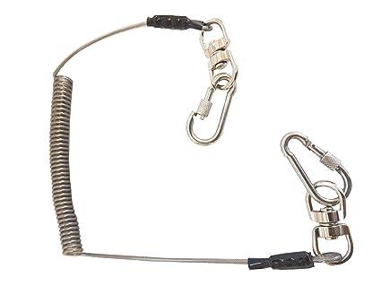BBI Tool - Cordón de seguridad resistente 2 mosquetones de ...