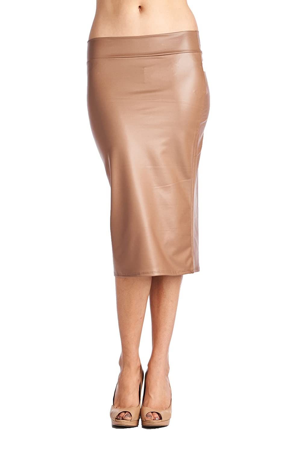 82 Days Women'S Casual To Office Wear Below Knee Various Style Of Skirts SK-9014PT-SLD