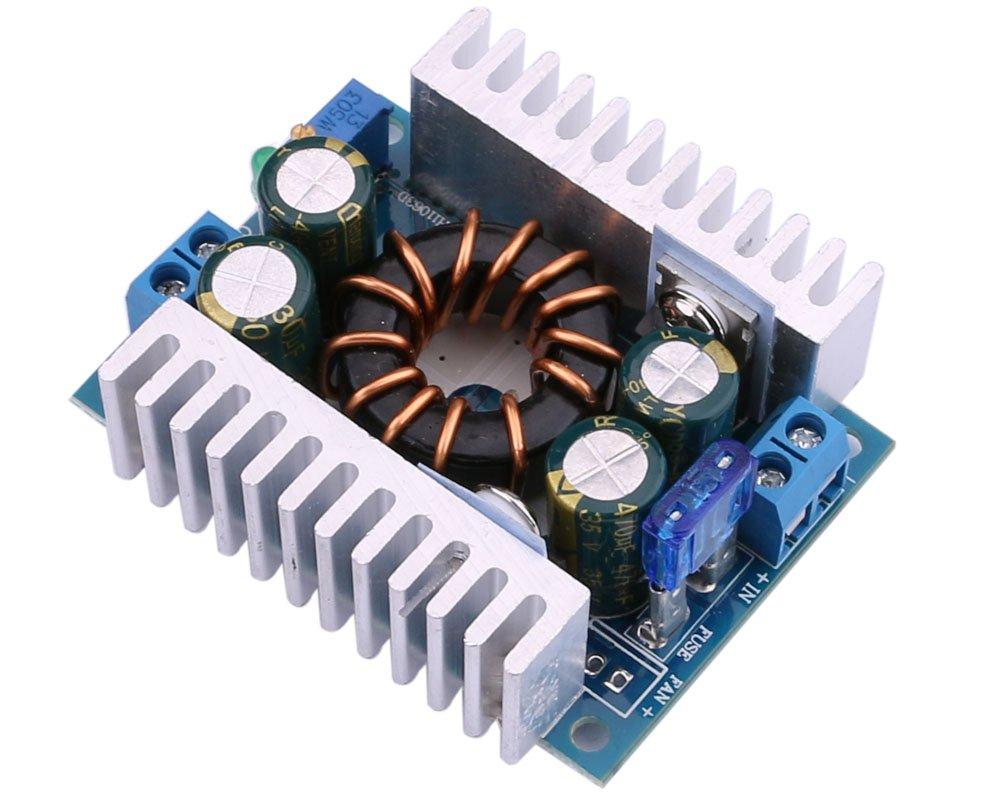 Dc Boost Converter Yeeco 150w 8a Step Up Electronics Technology 5vdc To 12vdc Lt1070 Circuit Board 8 32v 12v 24v 9 46v 36v Voltage Regulator Booster Module Adjustable