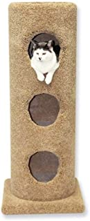 product image for Beatrise Pet Furniture 3 Story Carpeted Cat Condo Tower House Tree Post w/Base