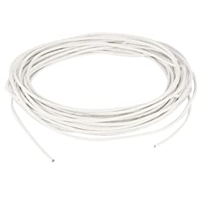 uxcell 10M/33ft 1mm2 500C Tinned Copper Conductor High Temperature Wire Cable