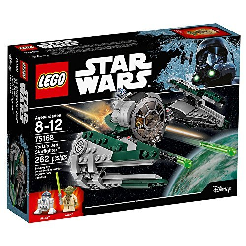 """LEGO Star Wars Yoda's Jedi Starfighter 75168 Building Kit (262 Pieces)"