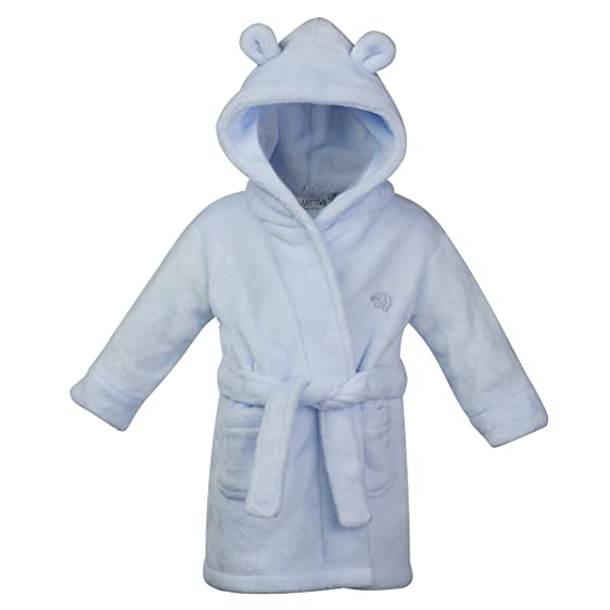 Amazon.com: Baby Boys & Girls Unisex Dressing Gown (Ages 6-24 ...