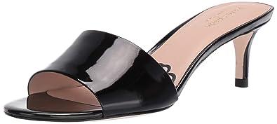 6f7b15b97 Kate Spade New York Women's SAVVI Heeled Sandal, Black Patent, ...