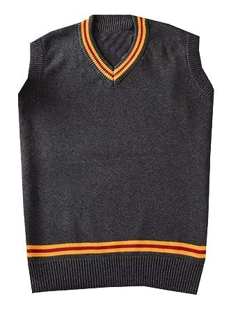 Alion Womens Fashion Knit V Neck Sleeveless Pullover Sweater Vest