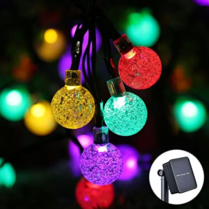 Outdoor Rv Lights Icicle solar string lights outdoor 20ft 30 led solar bubble globe icicle solar string lights outdoor 20ft 30 led solar bubble globe string lights fairy lighting workwithnaturefo