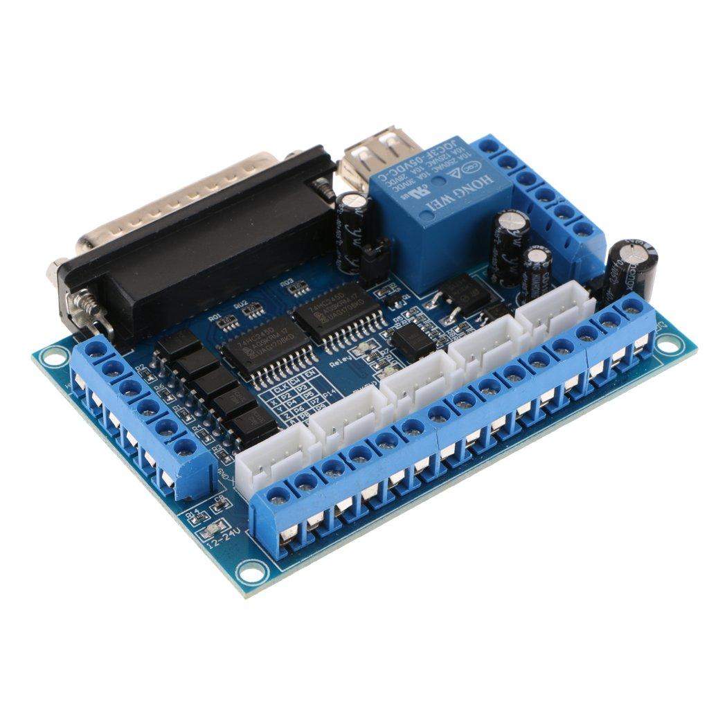 Unterst/ützung MACH3-Software Baoblaze Mach3 USB CNC Steuerung USB-Schnittstelle