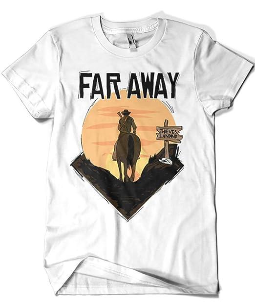 1611-Camiseta Far Away (Gualda Trazos)