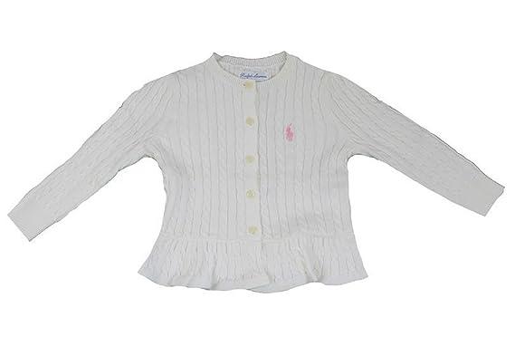 Polo Ralph Lauren - Ropa de punto - para bebé niña Blanco blanco ...