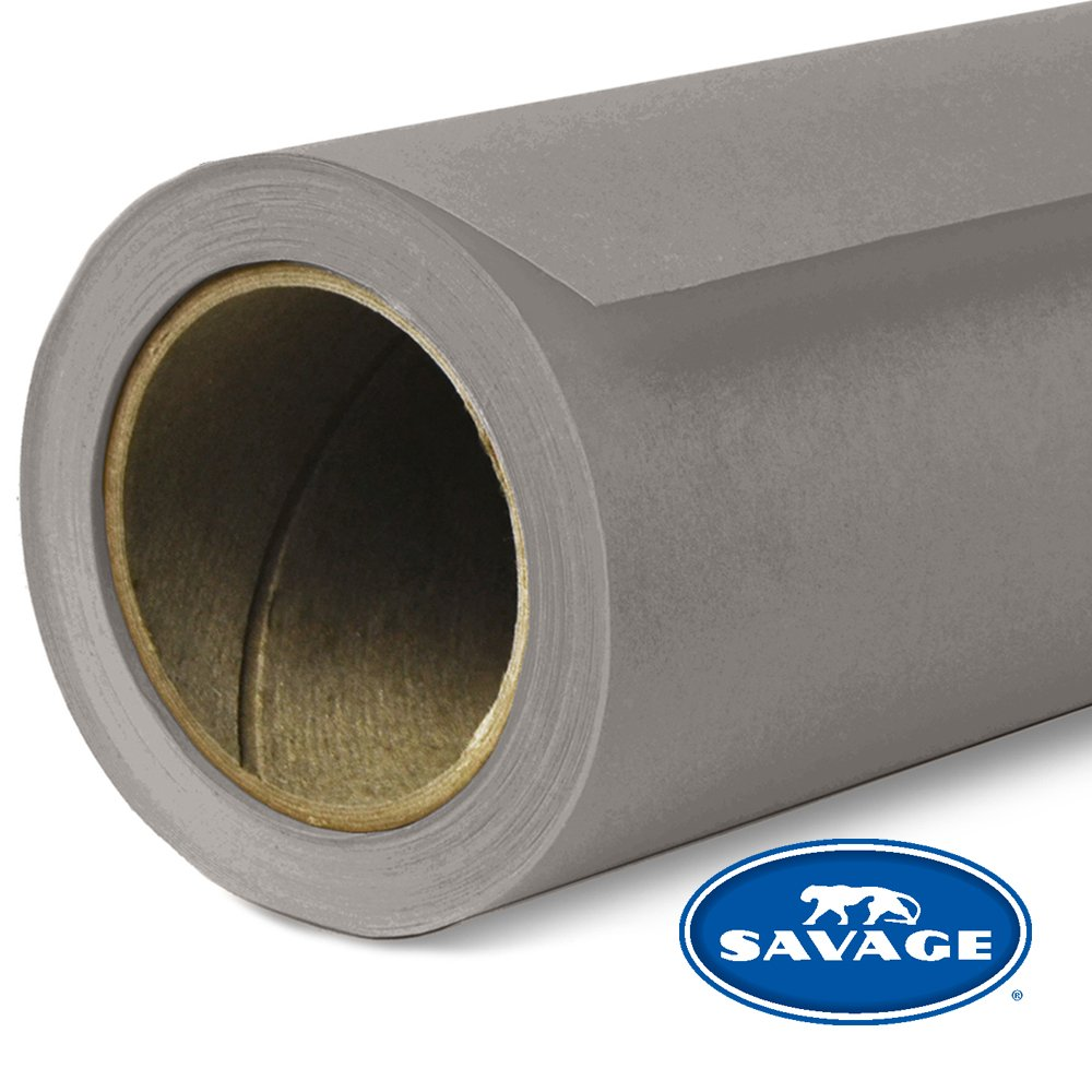 Savage Seamless Background Paper - #84 Dove Gray (107 in x 36 ft) by Savage