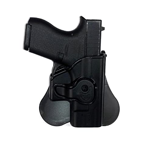 Amazon com : Tagua Gunleather Push Button Lock Style Holster Glock