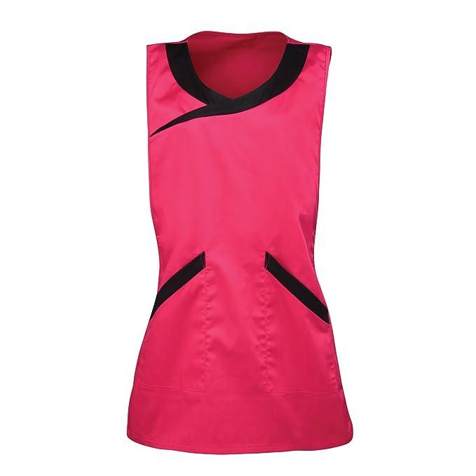 Premier PR176 Spa Tabard - Hot Pink/ Black - Medium: Amazon.es: Ropa y accesorios
