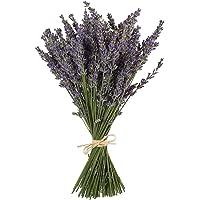 """TooGet Natural Lavender Bundles, Freshly Harvested 100 Stems Dried Lavender Bunch 16"""" - 18"""" Long, Decorative Flowers…"""