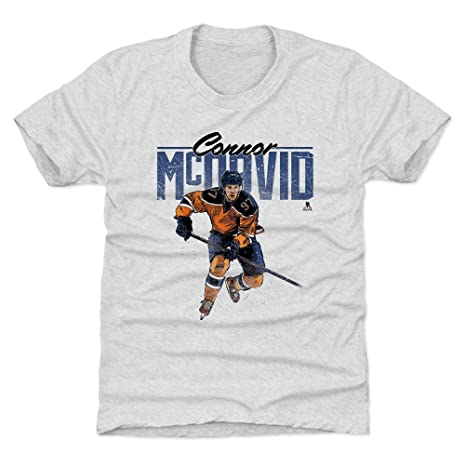 cd8a92585 500 LEVEL Connor McDavid Edmonton Oilers Youth Shirt (Kids X-Small (4-