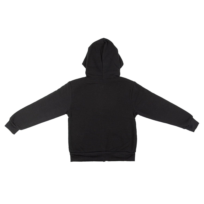 Tanvir Boys Fleece Lined Hooded Back to School Jacket