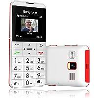 Easyfone Prime-A7 gsm Teléfono Móvil para Personas Mayores con Teclas Grandes, Botón SOS con GPS, Fácil de Usar Móviles…