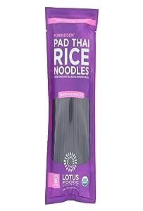 Lotus Foods, Noodles Pad Thai Forbidden Rice Organic, 8 Ounce