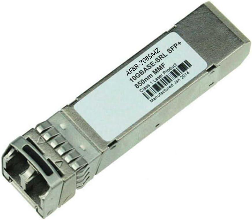 LODFIBER AFBR-708SMZ Avago Compatible 10GBASE-USR SFP 850nm 100m DOM Transceiver
