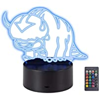 Appa Touch Night Light Appa 3D Desk 16 Color Change Decor Lamp Room Decoration Children Room Decoration 3D Light (Appa)