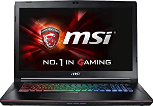 MSI GE72VR APACHE PRO-416 - 17.3in - i7-7700HQ - Nvidia GTX 1060 - 16GB - 1TB HDD+128GB SSD (Renewed)
