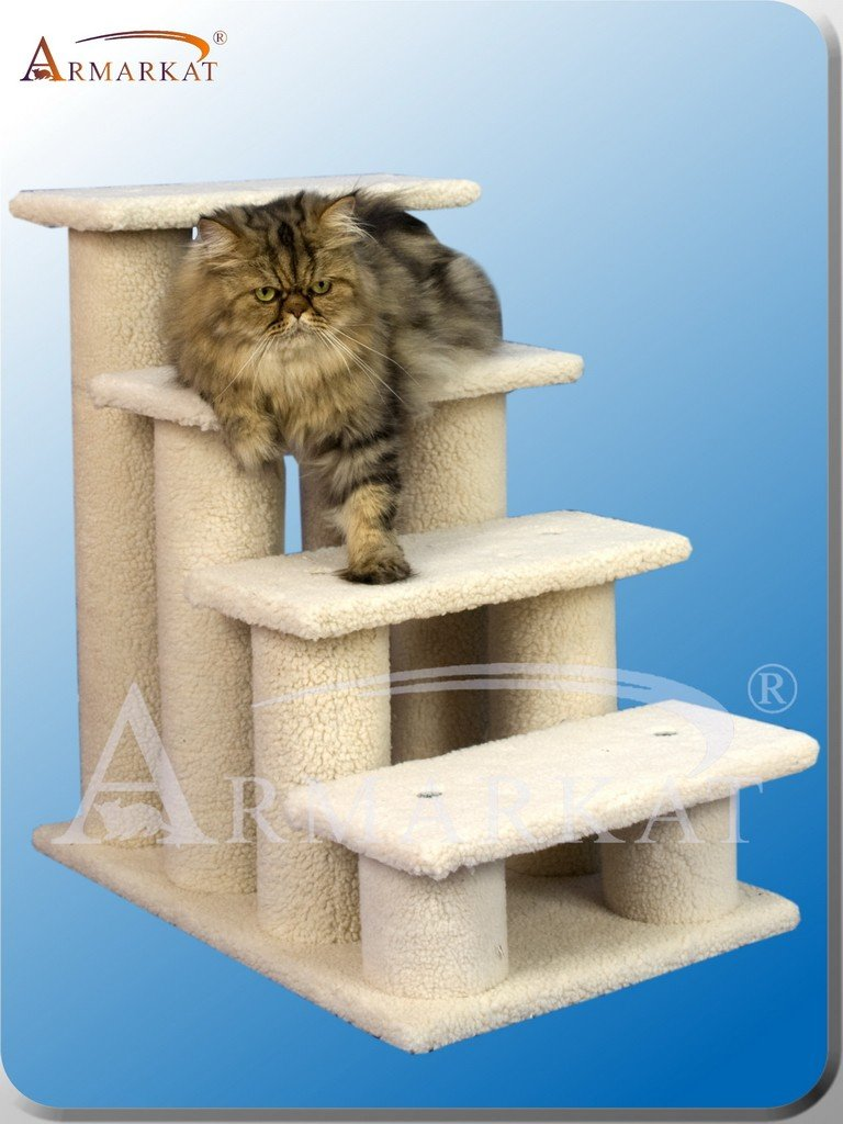 Amazon.com: ARBOL para GATOS de ARMARKAT modelo CLASSIC FAUX FLEECE B4001: Health & Personal Care
