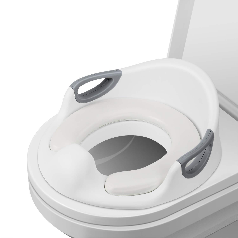 wei/ß Baby Potty Training//Toilettensitz//Trainingssitz//Toilettentrainer Nearpow T/öpfchen Sitze Training Sitze f/ür Kinder passt auf runde und ovalen Toiletten