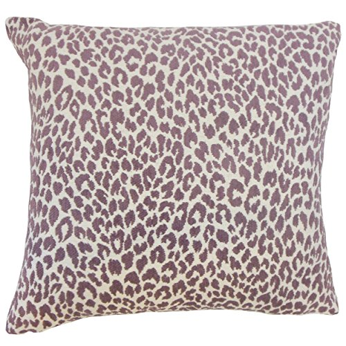 The Pillow Collection Orchid Pesach Animal Print Bedding Sham, King/20'' x 36'' by The Pillow Collection