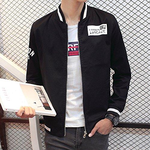 Chaqueta machos chaqueta casual marea colores L Black Chaqueta Series jóvenes y modernos hombres chaqueta invierno butt SWrqYS7w
