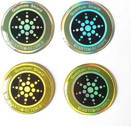5G Adesivo per la Protezione dalle Radiazioni del Segnale Quantum Shield per telefoni cellulari Laptop Adesivo per Salute dispositivi elettronici WEIFAN Adesivi per la Protezione dalle Radiazioni