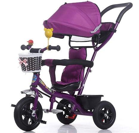HSDDA Carro de bebé Ligero Carrito de bebé para niños Triciclo Cochecito / 1-3